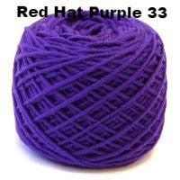 HiKoo SimpliWorsted yarn Red Hat Purple 33 - 6