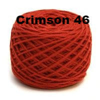 HiKoo SimpliWorsted Yarn-Yarn-Crimson 46-