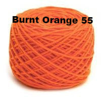 HiKoo SimpliWorsted yarn Burnt Orange 55 - 13