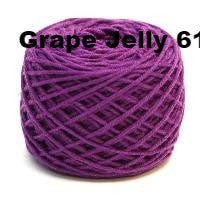HiKoo SimpliWorsted yarn Grape Jelly 61 - 8