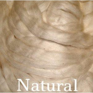 Eco Butterfly Organic Pakucho Cotton Roving Natural - 3