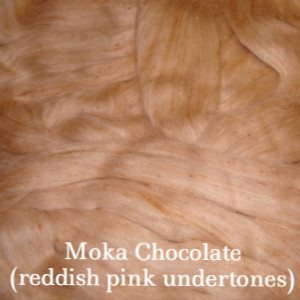 Eco Butterfly Organic Pakucho Cotton Roving Moka Chocolate - 11