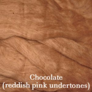 Eco Butterfly Organic Pakucho Cotton Roving Chocolate - 13