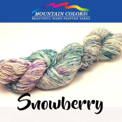 Mountain Colors Twizzlefoot Yarn Snowberry - 73