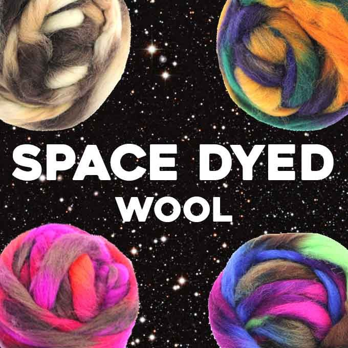 Paradise Fibers Space Dyed Wool  - 1