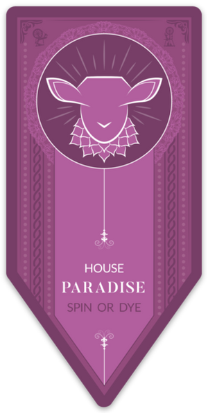 Paradise Fibers Magnets-Accessories-Spin or Dye House Banner-