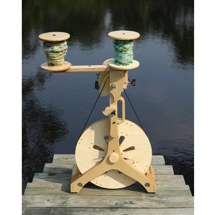 Foldable SpinOlution Portable Lazy Kate for Plying Yarn