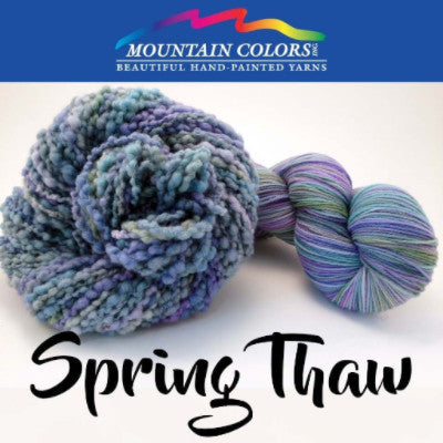 Mountain Colors Twizzlefoot Yarn Spring Thaw - 76