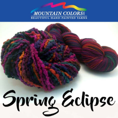 Mountain Colors Twizzlefoot Yarn Spring Eclipse - 74