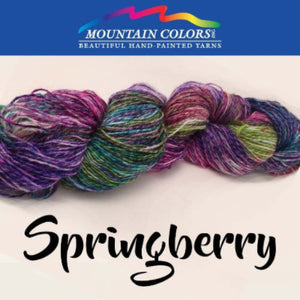 Mountain Colors Twizzlefoot Yarn-Yarn-Springberry-