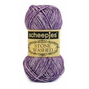 Scheepjes Stone Washed Yarn Deep Amethyst 811 - 11