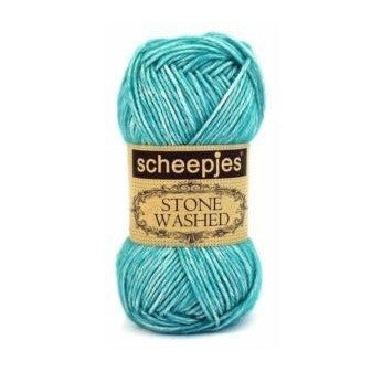 Scheepjes Stone Washed Yarn Green Agate 815 - 15