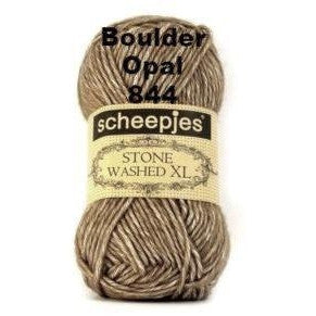Scheepjes Stone Washed XL Yarn Boulder Opal 844 - 7
