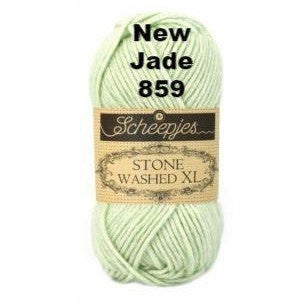 Scheepjes Stone Washed XL Yarn New Jade 859 - 17
