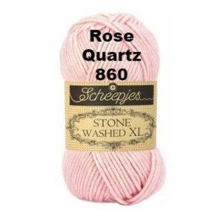 Scheepjes Stone Washed XL Yarn Rose Quartz 860 - 14