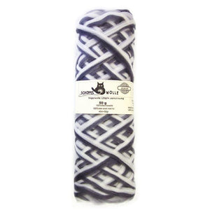 Artfelt Multi Colored Merino Pencil Rovings-Fiber-Stormy Skies 1508-