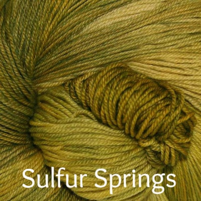 Paradise Fibers Yarn Palouse Yarn Company Cashmere Squeeze Sulfur Springs - 1