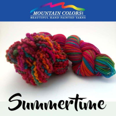 Mountain Colors Twizzlefoot Yarn Summertime - 78