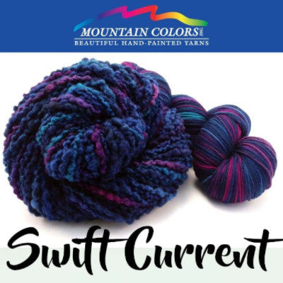 Mountain Colors Twizzlefoot Yarn Swift Current - 80