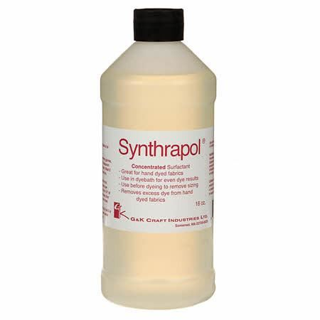 G & K Craft Synthrapol Sizing & Dye Remover - 16oz-Fiber Accessory-Paradise Fibers