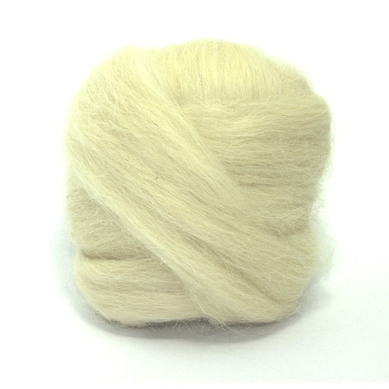 Paradise Fibers Devon Wool Roving- 1lb. Bundle