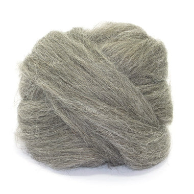 Paradise Fibers Grey Masham Wool (1lb Bag)
