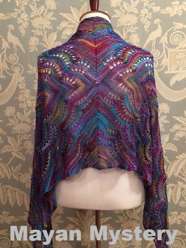 Paradise Fibers Kits Artyarns Taj Shawl Kit  - 1