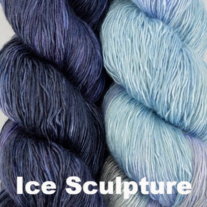 Paradise Fibers Kits Artyarns Taj Shawl Kit Ice Sculpture - 3