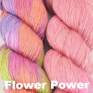 Paradise Fibers Kits Artyarns Taj Shawl Kit Flower Power - 6