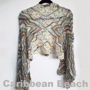 Paradise Fibers Kits Artyarns Taj Shawl Kit  - 9