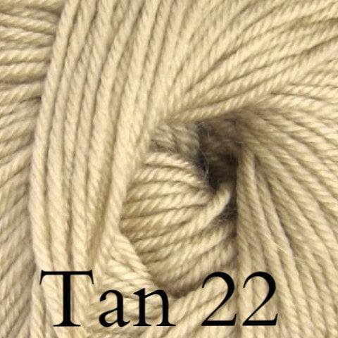 Ella Rae Cozy Soft Solids Yarn Tan 22 - 14