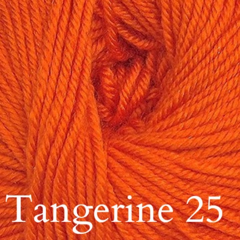 Ella Rae Cozy Soft Solids Yarn Tangerine 25 - 17
