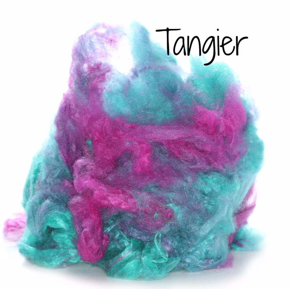 Camaj Hand Dyed Mulberry Silk Cloud- Soffsilk® Tangier / 1oz - 11