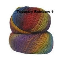 Crystal Palace Mini Mochi Yarn Tapestry Rainbow 105 - 3
