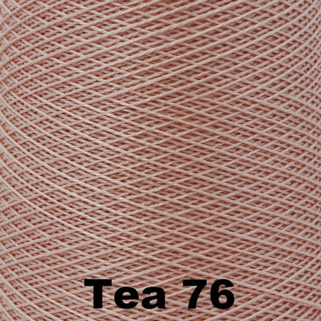 5/2 Perle Cotton 1lb Cones Tea 76 - 91