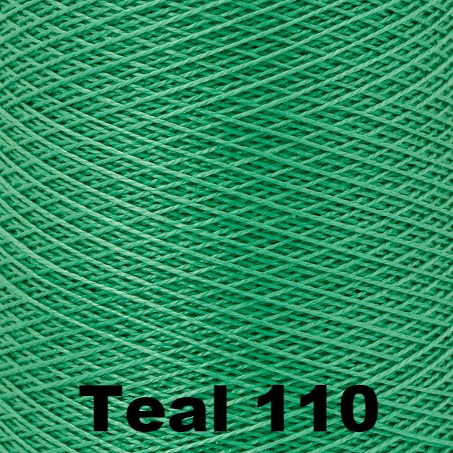 5/2 Perle Cotton 1lb Cones Teal 110 - 82