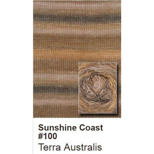 Queensland Collection Sunshine Coast Yarn Terra Australis 100 - 2