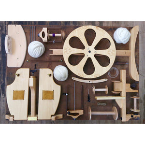 Paradise Fibers Revolution Spinning Wheel Complete Package