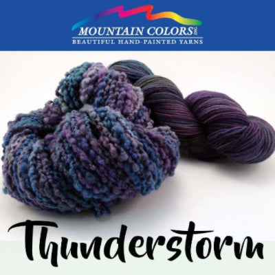 Mountain Colors Twizzlefoot Yarn Thunderstorm - 81