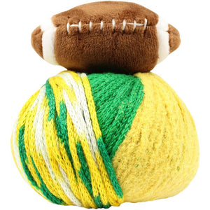 Top This! Hat Kit-Kits-Football - Green/Gold-