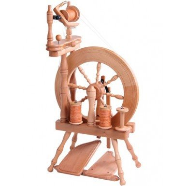 Paradise Fibers Spinning Wheel Ashford Traveller Spinning Wheel