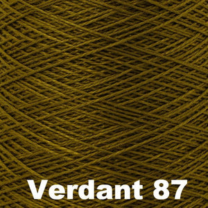 3/2 Mercerized Perle Cotton-Weaving Cones-Verdant 87-