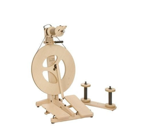 Paradise Fibers Louet Victoria S95 - Beech Spinning Wheel (without carry case)