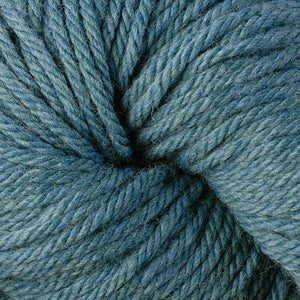 Berroco Vintage Chunky weight yarn in the color Breezeway 6194, a summery heathered blue-green.