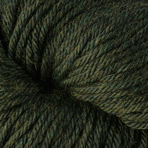 Berroco Vintage Chunky weight yarn in the color Douglas Fir 6177, a forest green.