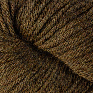 Berroco Vintage Chunky weight yarn in the color Forest Floor 61173, a heathered brown.