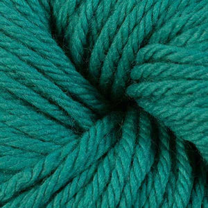 Berroco Vintage Chunky weight yarn in the color Jade 6142, a blue-green.