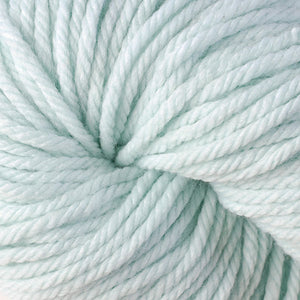 Berroco Vintage Chunky weight yarn in the color Minty 6112, a soft mint.
