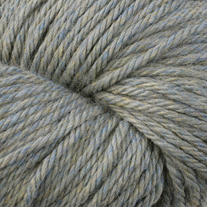 Berroco Vintage Chunky weight yarn in the color Sage 6199, a heathered sage.