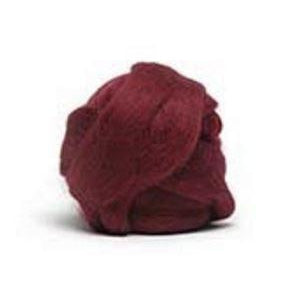 Louet Dyed Corriedale Top (1/2 lb bags) Warm Wine - 14